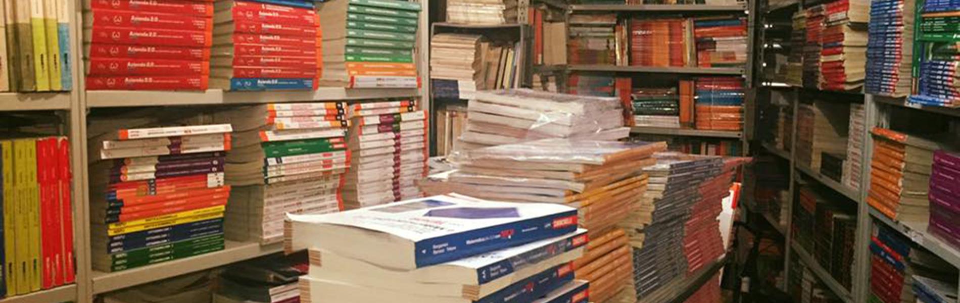 Risparmia sull'acquisto dei libri!